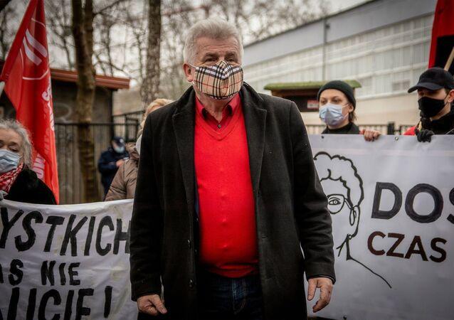 Polski działacz społeczny Piotr Ikonowicz