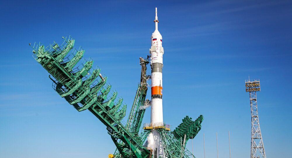 Statek Sojuz MS-17