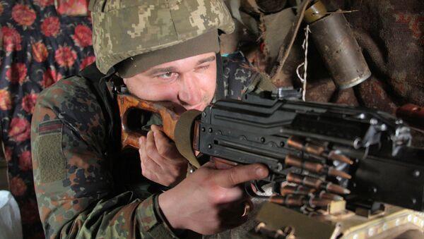 Konflikt zbrojny na Ukrainie - Sputnik Polska