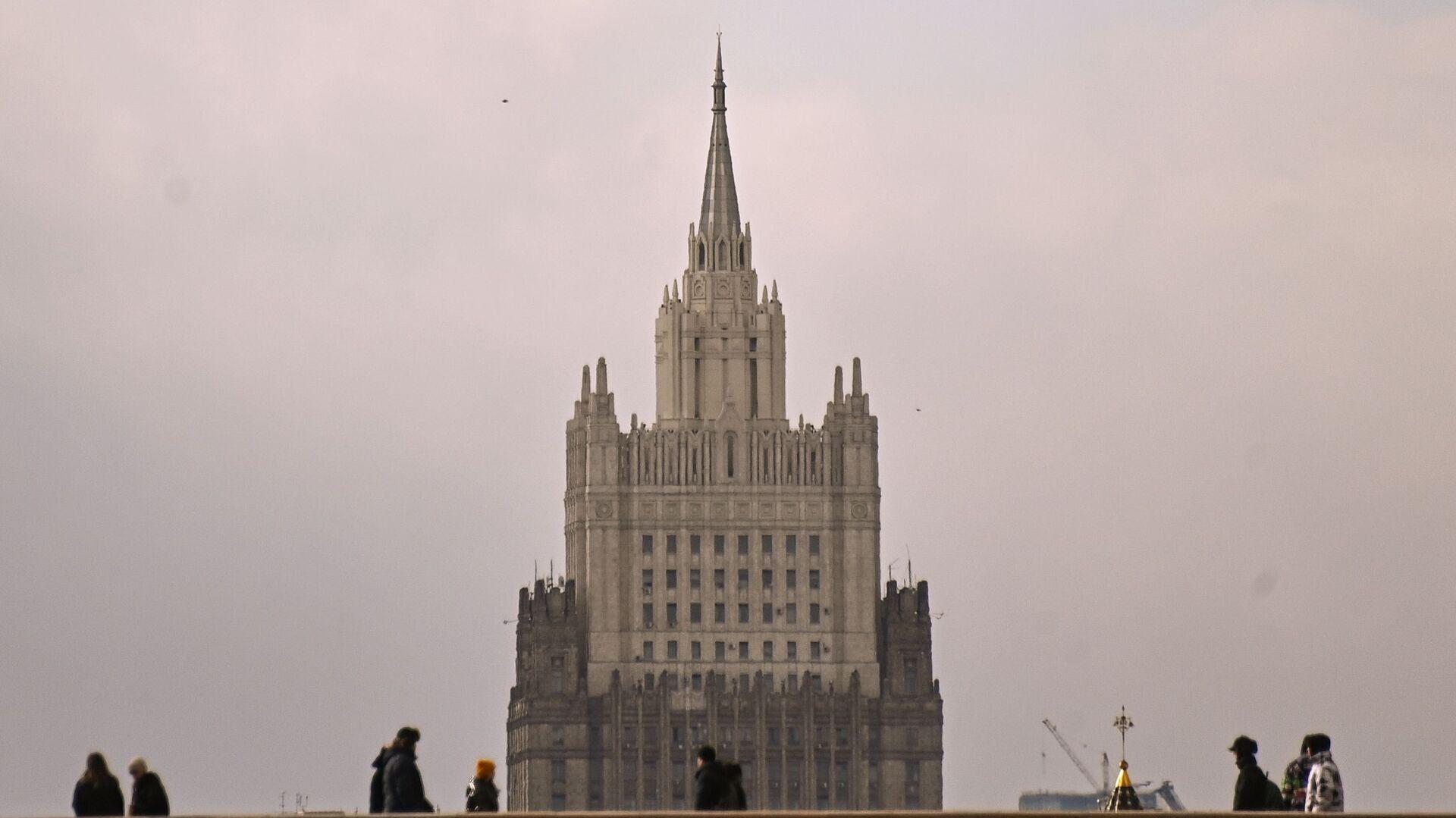 Gmach MSZ Rosji w Moskwie. - Sputnik Polska, 1920, 22.04.2021