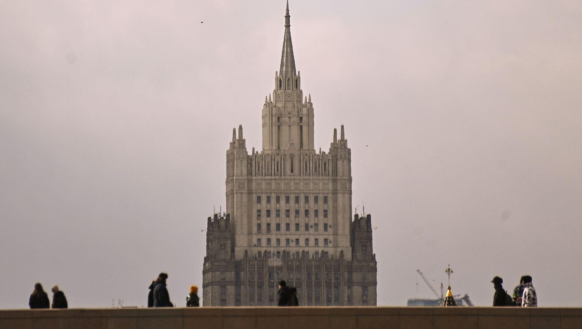 Gmach MSZ Rosji w Moskwie. - Sputnik Polska, 1920, 11.05.2021