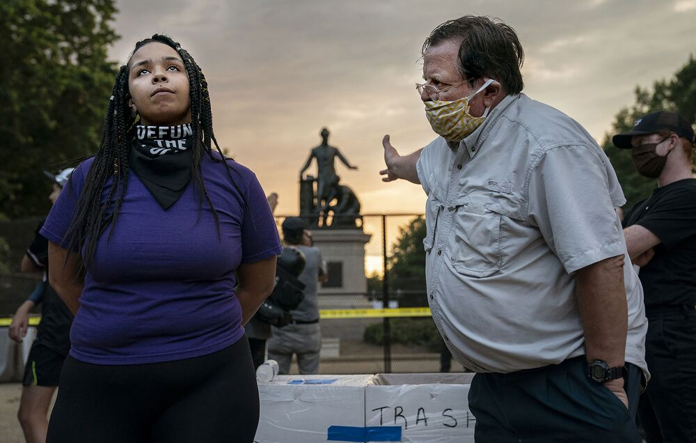 "Kategoria Spot News - Evelyn Hockstein ""Emancipation Memorial Debate"""