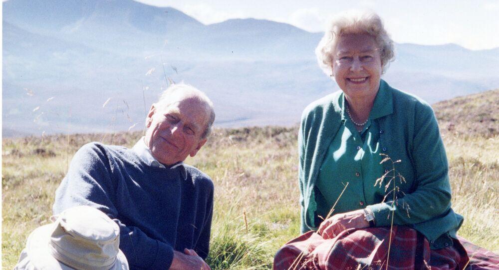 Książę Filip i królowa Elżbieta II.