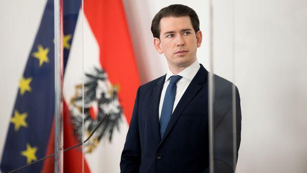Kanclerz Austrii Sebastian Kurz. - Sputnik Polska