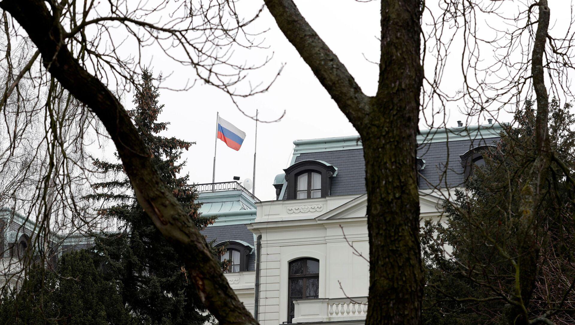 Siedziba ambasady Rosji w Pradze. - Sputnik Polska, 1920, 18.04.2021
