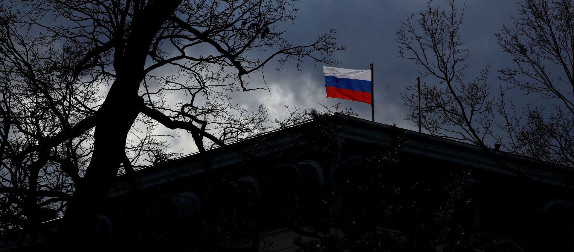 Siedziba Ambasady Rosji w Pradze.  - Sputnik Polska, 1920, 22.04.2021