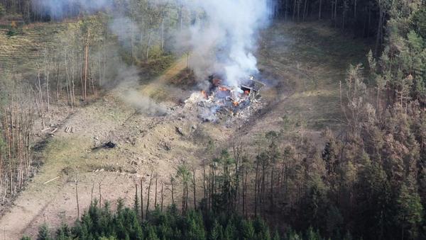 Wybuch na składzie amunicji w Vrbeticy, Czechy. - Sputnik Polska