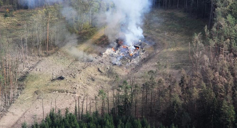 Wybuch na składzie amunicji w Vrbeticy, Czechy.