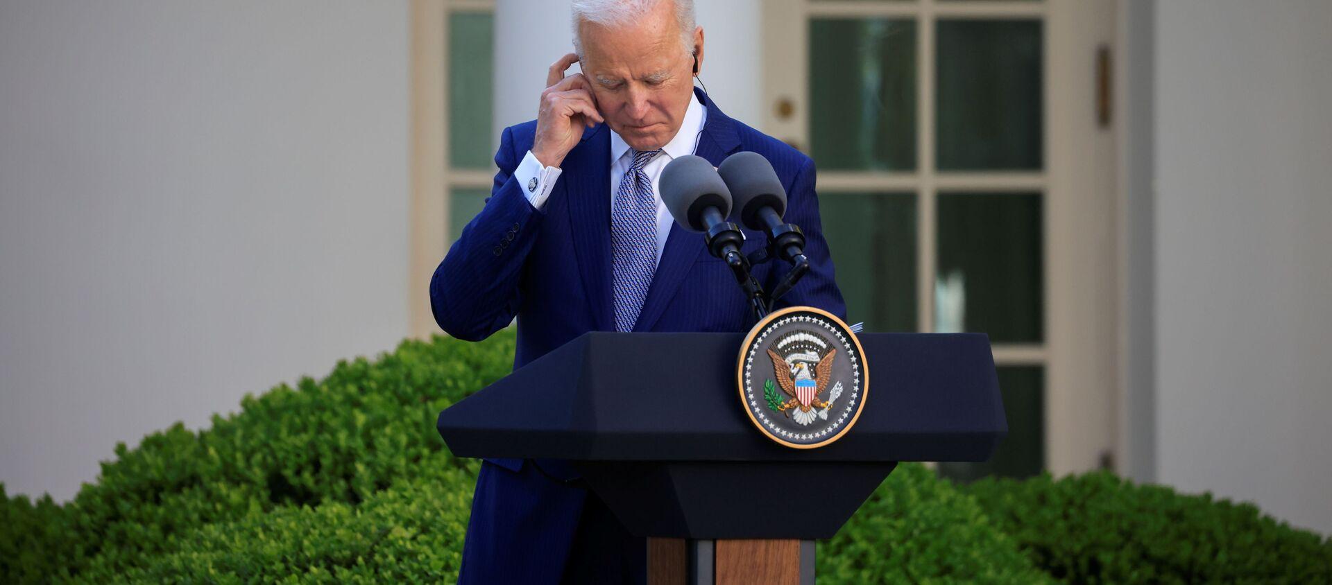 Prezydent USA Joe Biden - Sputnik Polska, 1920, 20.04.2021