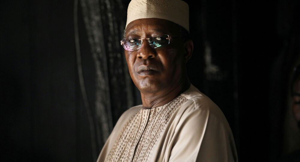 Prezydent Czadu Idriss Déby