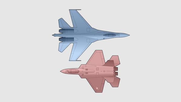 SU-35S vs. KF-21 - Sputnik Polska