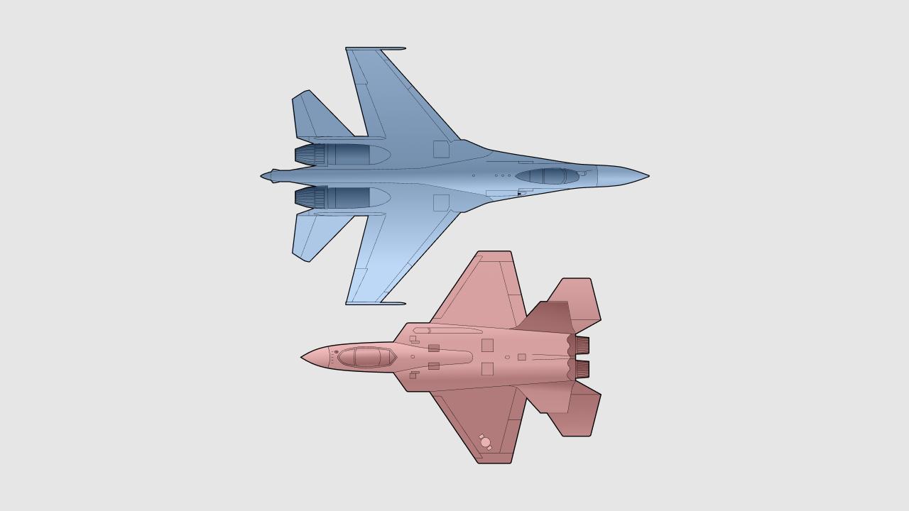 SU-35S vs. KF-21