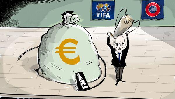 FIFA vs Superliga - Sputnik Polska