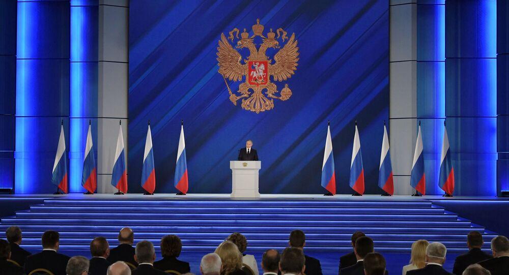 Coroczne przesłanie Prezydenta Federacji Rosyjskiej do Zgromadzenia Federalnego