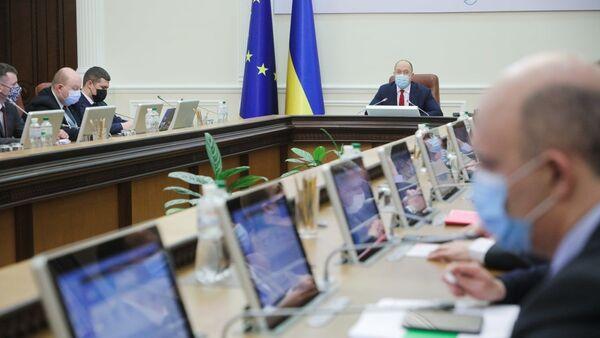 Spotkanie Rady Ministrów Ukrainy - Sputnik Polska