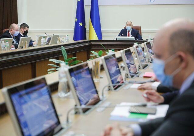 Spotkanie Rady Ministrów Ukrainy