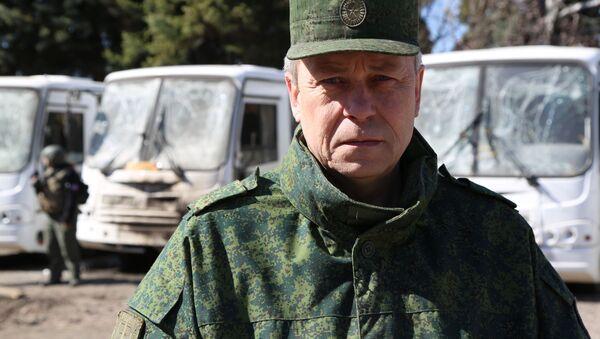 Zastępca szefa wydziału Milicji Ludowej DRL Eduard Basurin - Sputnik Polska