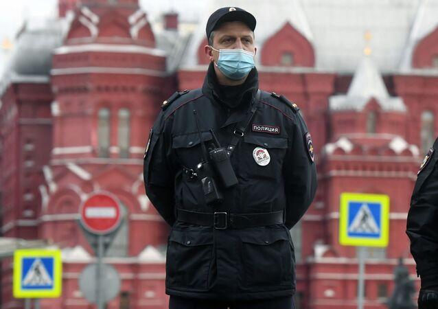 Protesty w Moskwie, 21.04.2021