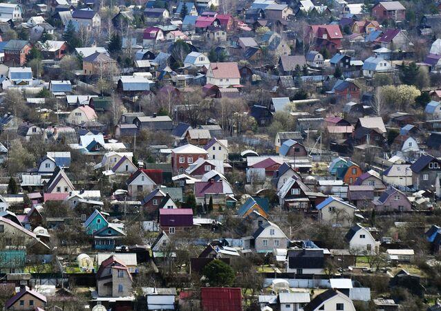 Dacze w obwodzie moskiewskim.