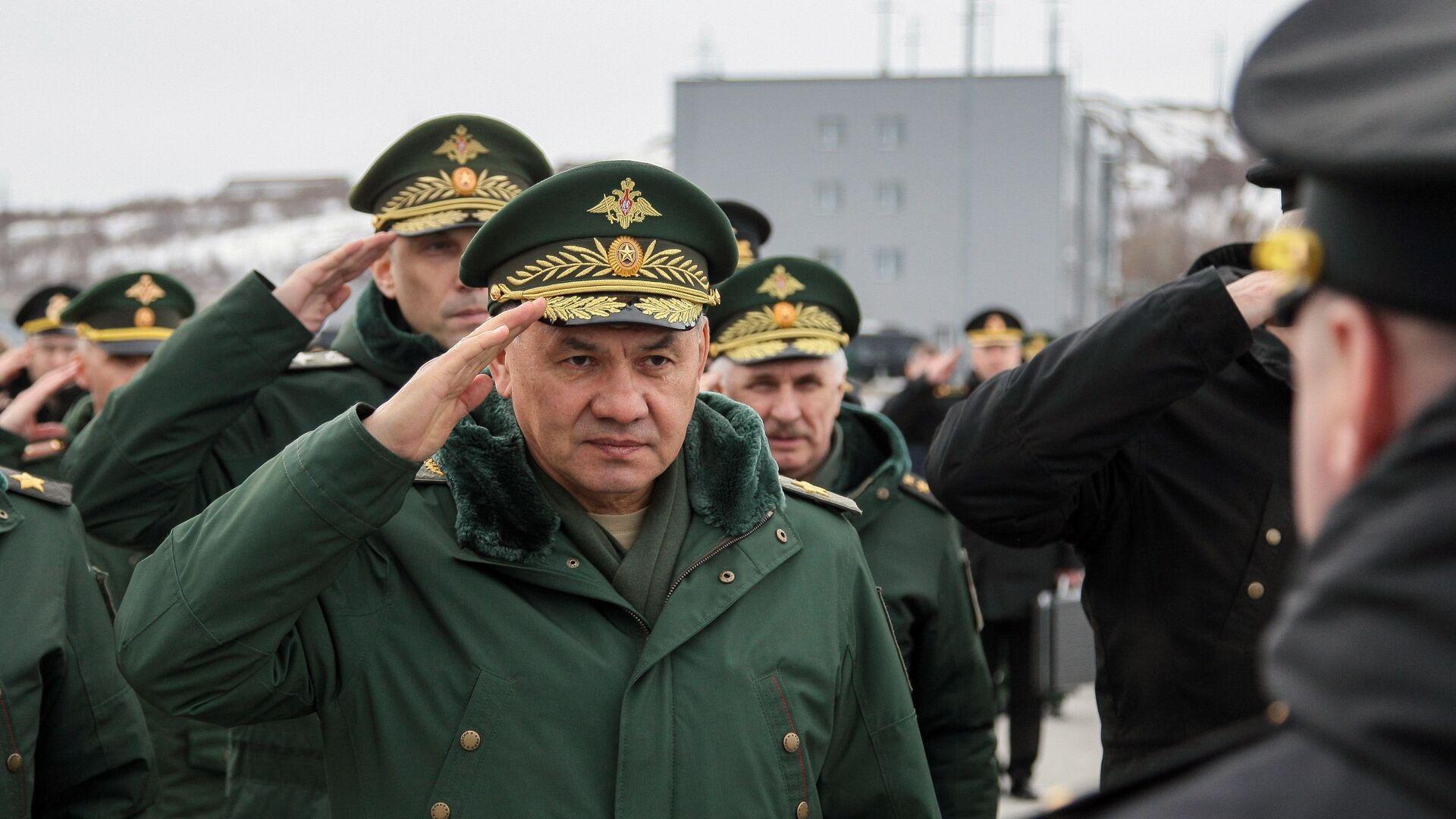 Minister Obrony Rosji Siergiej Szojgu - Sputnik Polska, 1920, 22.04.2021