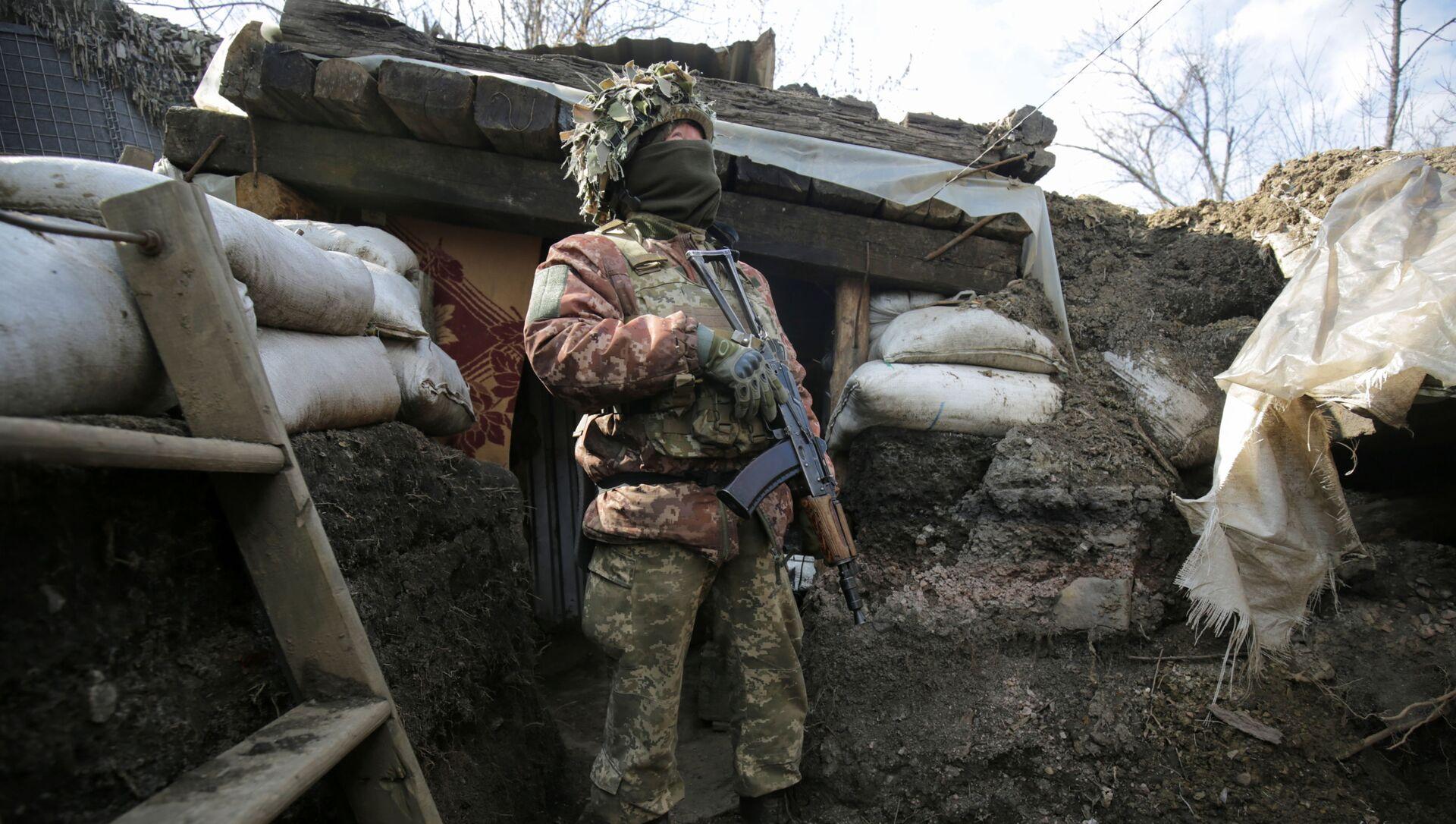 Konflikt zbrojny w Donbasie. - Sputnik Polska, 1920, 04.06.2021