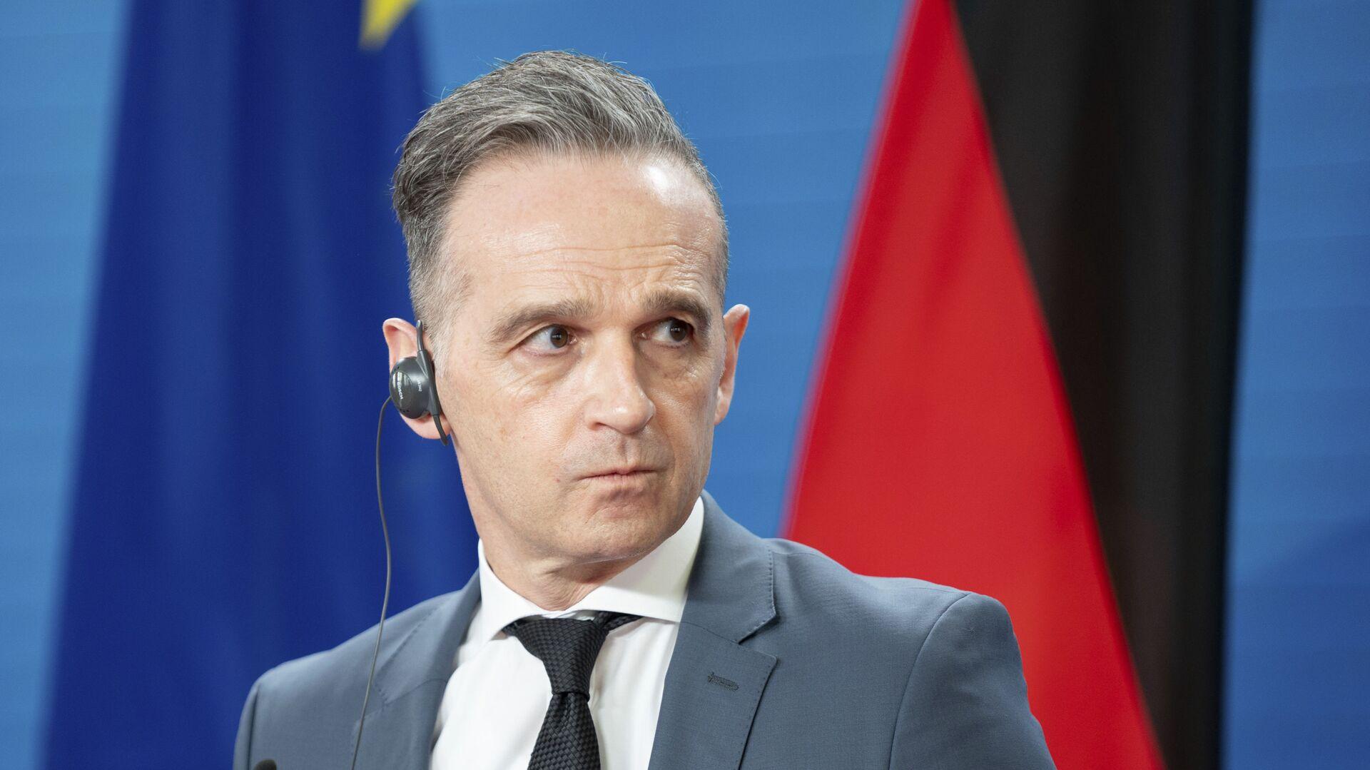 Minister spraw zagranicznych Niemiec Heiko Maas. - Sputnik Polska, 1920, 21.06.2021