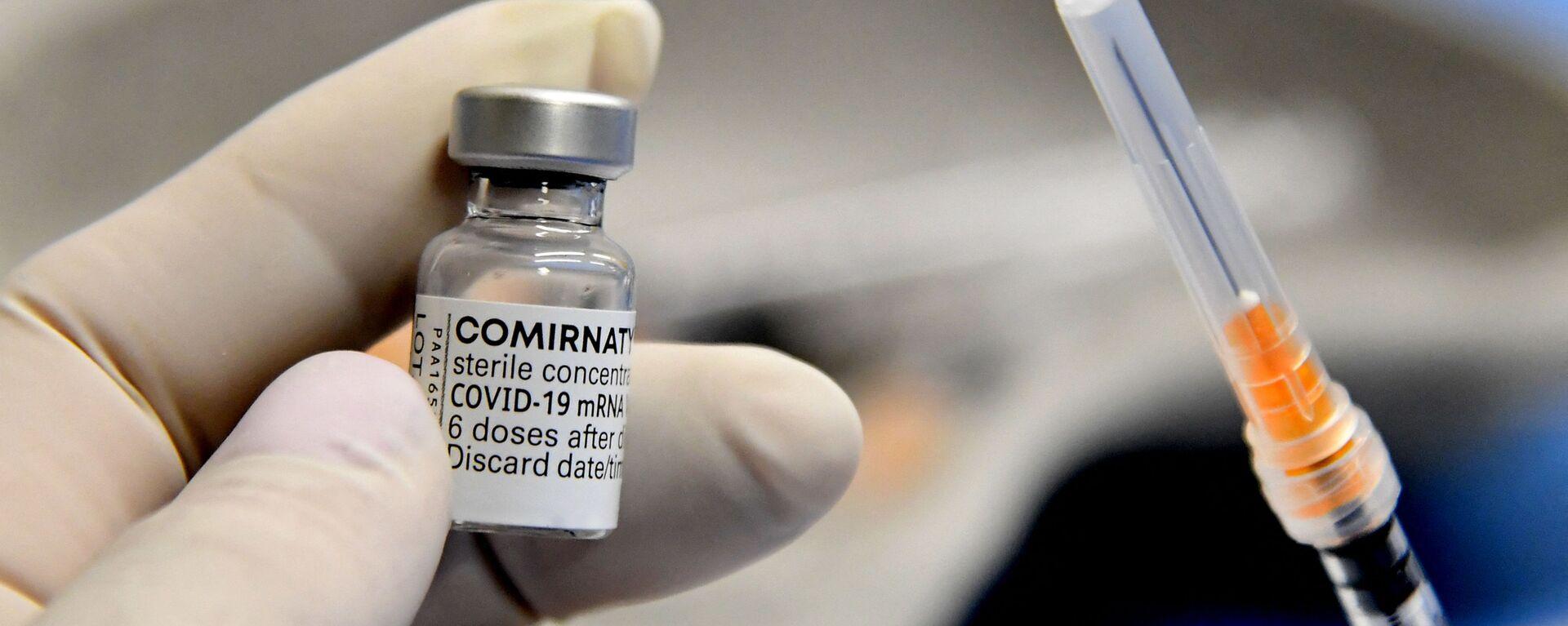 Kampania szczepień na COVID-19 we Włoszech. Szczepionka Pfizer-BioNTech. - Sputnik Polska, 1920, 30.05.2021