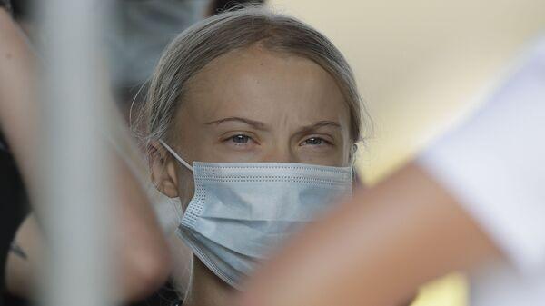 Szwedzka ekoaktywistka Greta Thunberg - Sputnik Polska