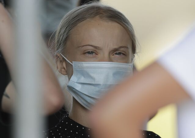 Szwedzka ekoaktywistka Greta Thunberg
