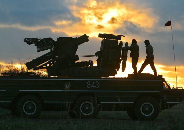 """Przeciwlotnicze zestawy rakietowe 9K33 """"Osa"""""""