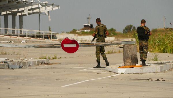 Donbas, linia kontaktowa - Sputnik Polska