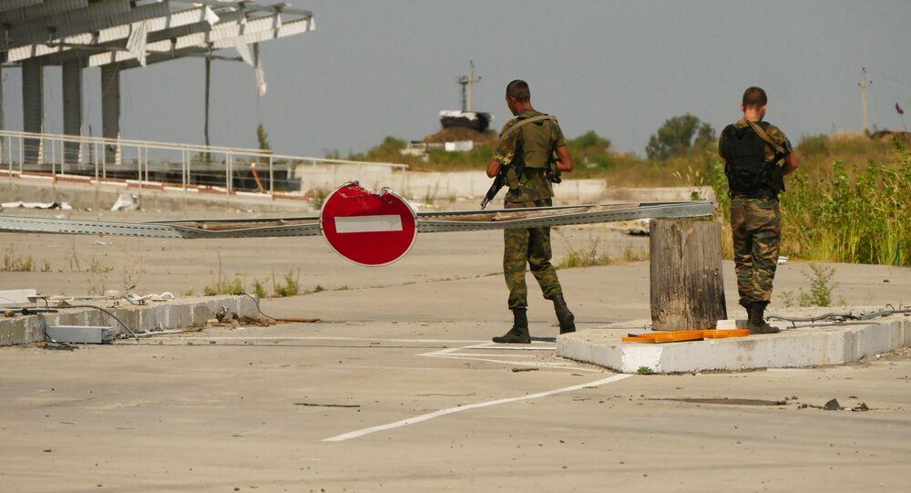 Donbas, linia kontaktowa