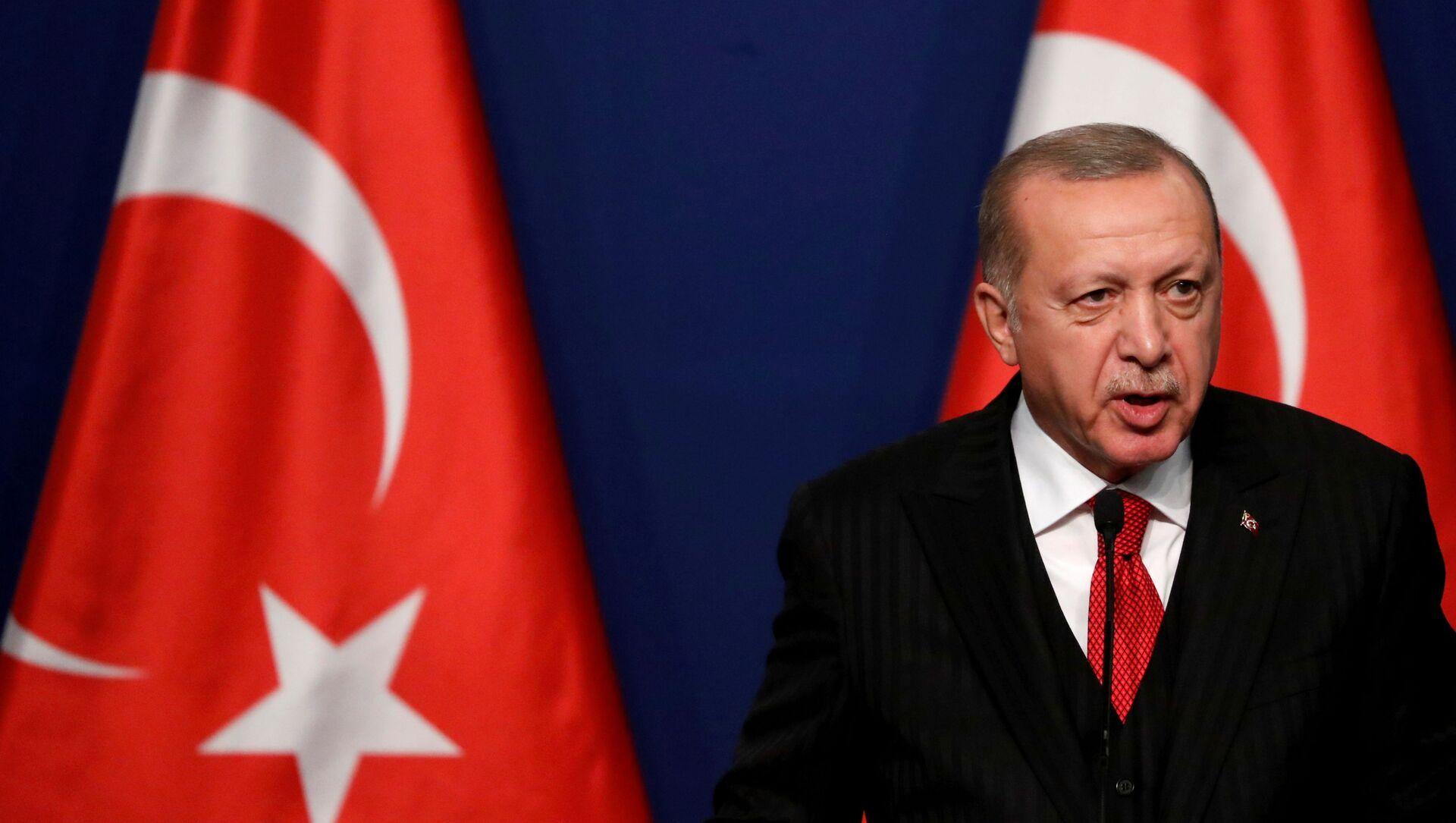 Recep Tayyip Erdogan - Sputnik Polska, 1920, 17.05.2021