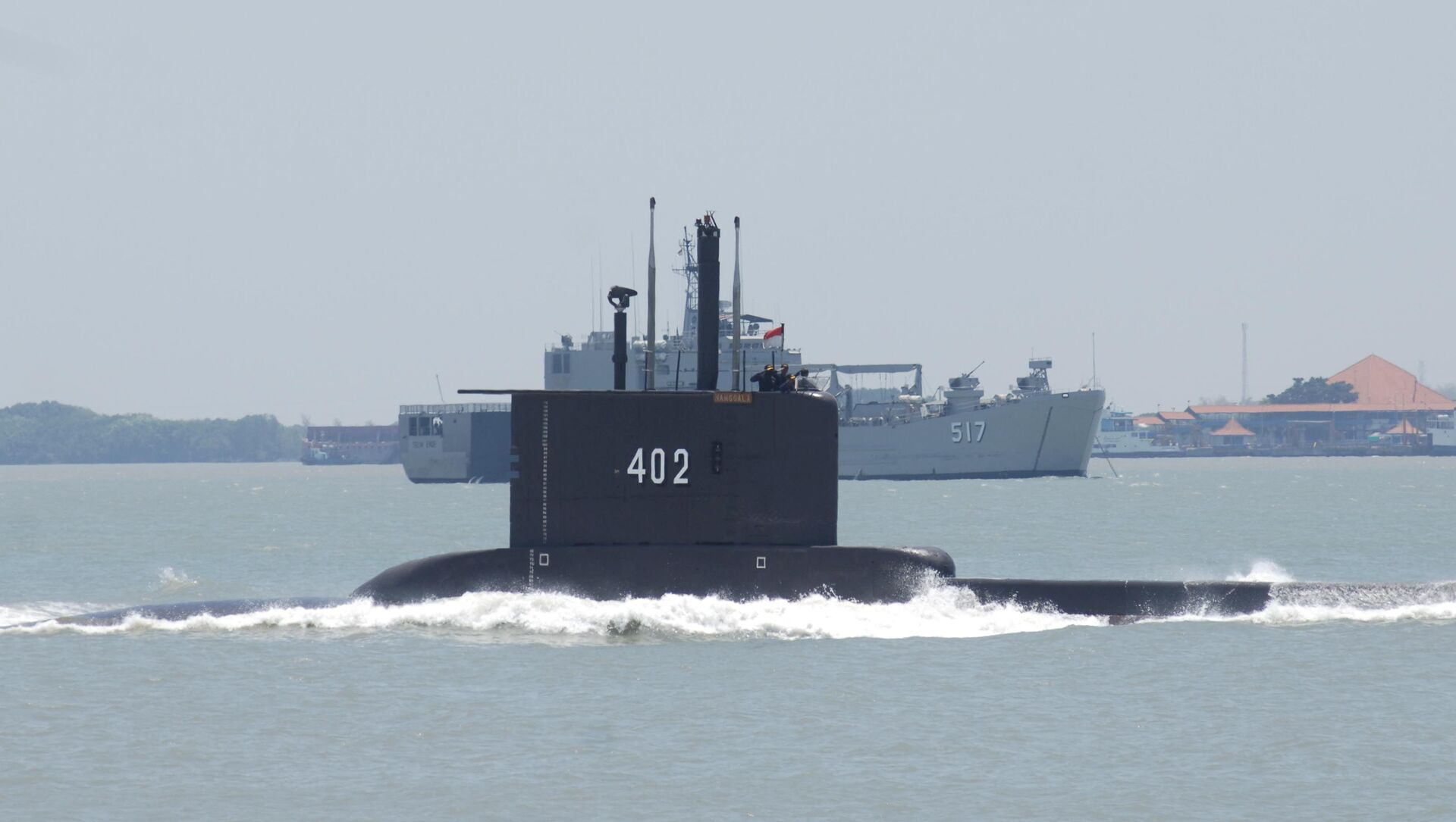 Okręt podwodny indonezyjskiej marynarki wojennej KRI Nanggala 402. - Sputnik Polska, 1920, 25.04.2021