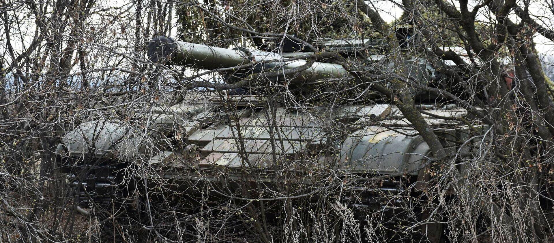 Konflikt zbrojny w Donbasie. - Sputnik Polska, 1920, 01.05.2021