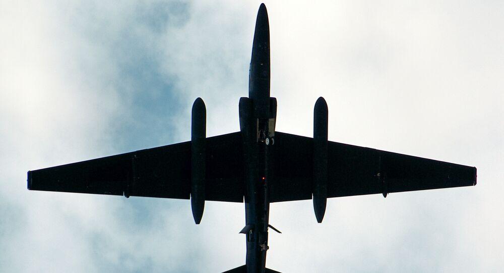 Samolot rozpoznawczy Lockheed U-2.