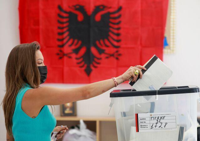 Wybory parlamentarne w Albanii.
