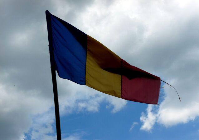 Flaga Rumunii.
