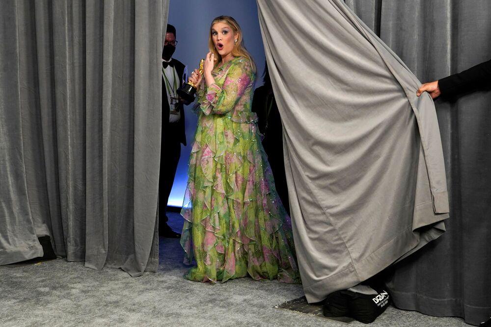Aktorka Emerald Fennell na 93. ceremonii rozdania Oscarów w Los Angeles