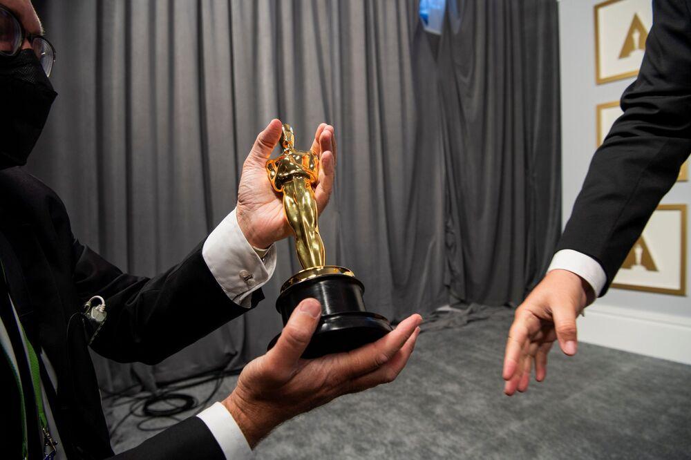 Za kulisami 93. ceremonii rozdania Oscarów w Los Angeles