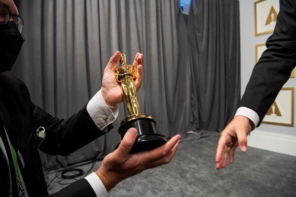 Za kulisami 93. ceremonii rozdania Oscarów w Los Angeles - Sputnik Polska