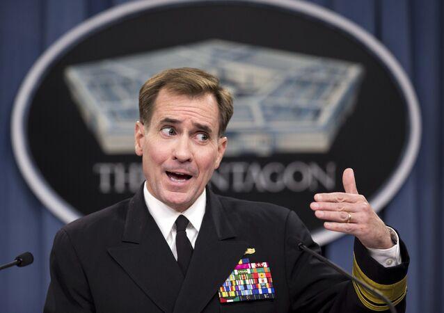 Rzecznik Departamentu Obrony USA John Kirby.