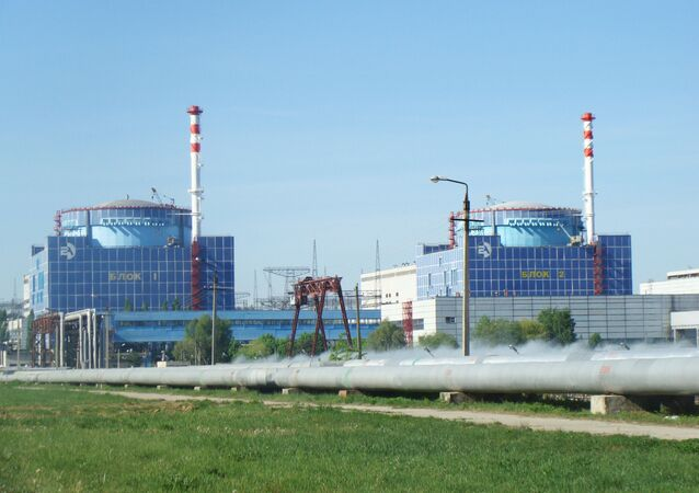 Chmielnicka Elektrownia Jądrowa na Ukrainie.