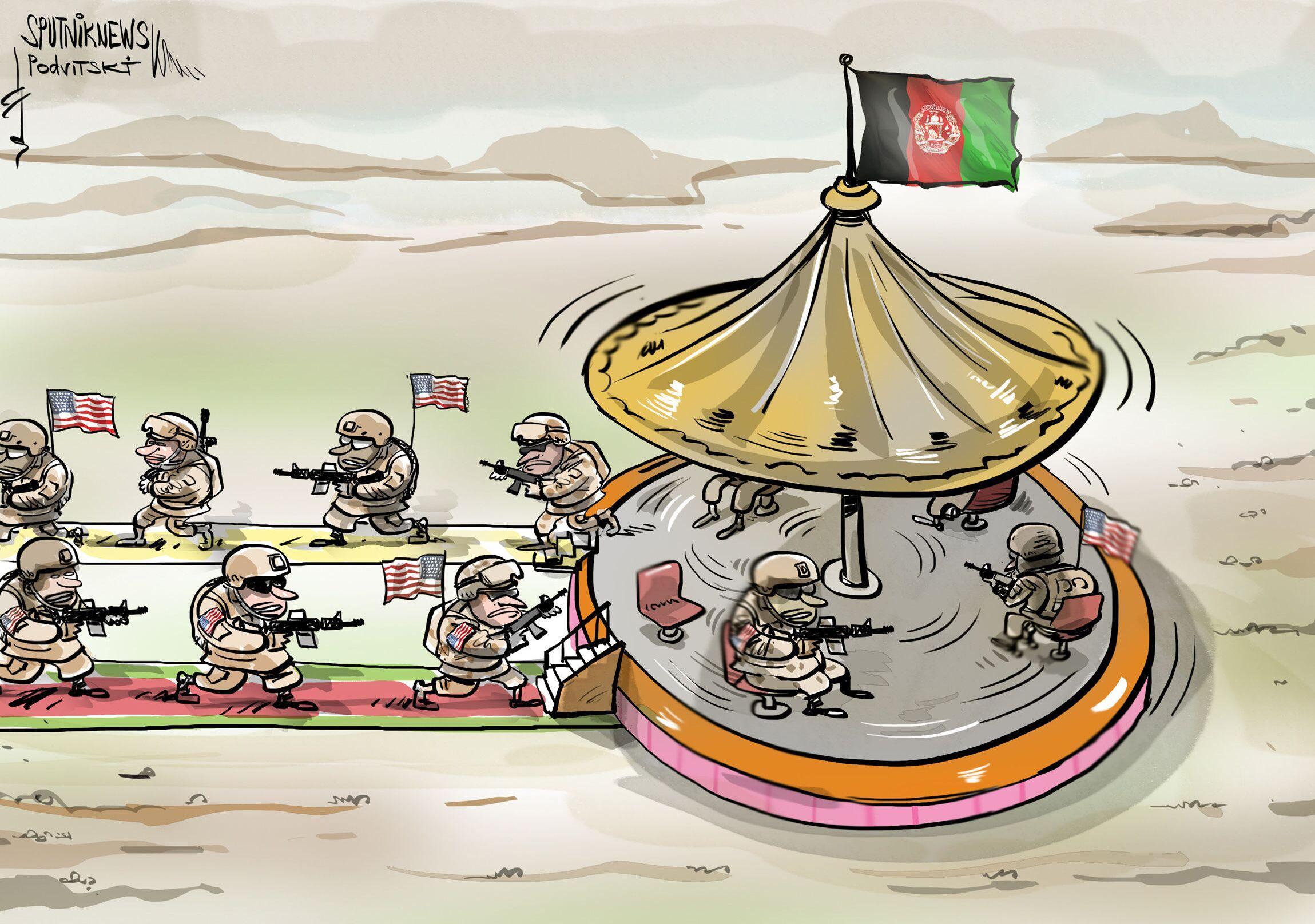 Wojska USA wycofują się z Afganistanu.