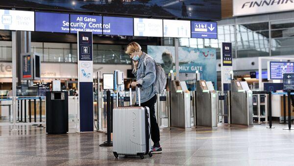 Koronawirus na lotnisku - Sputnik Polska