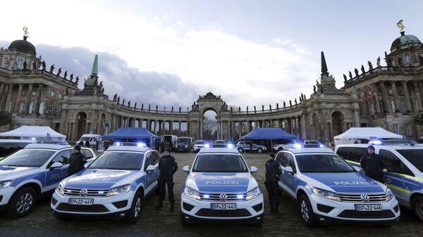 Policja w Niemczech, Poczdam - Sputnik Polska