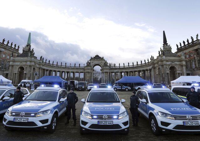 Policja w Niemczech, Poczdam.