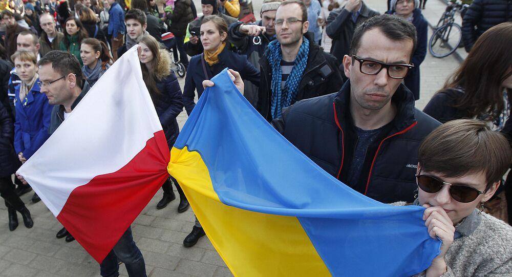 Marsz Solidarności z Ukrainą w Warszawie