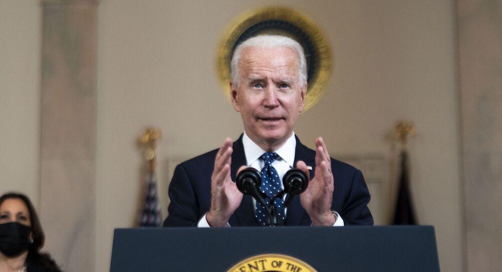 Prezydent USA Joe Biden.