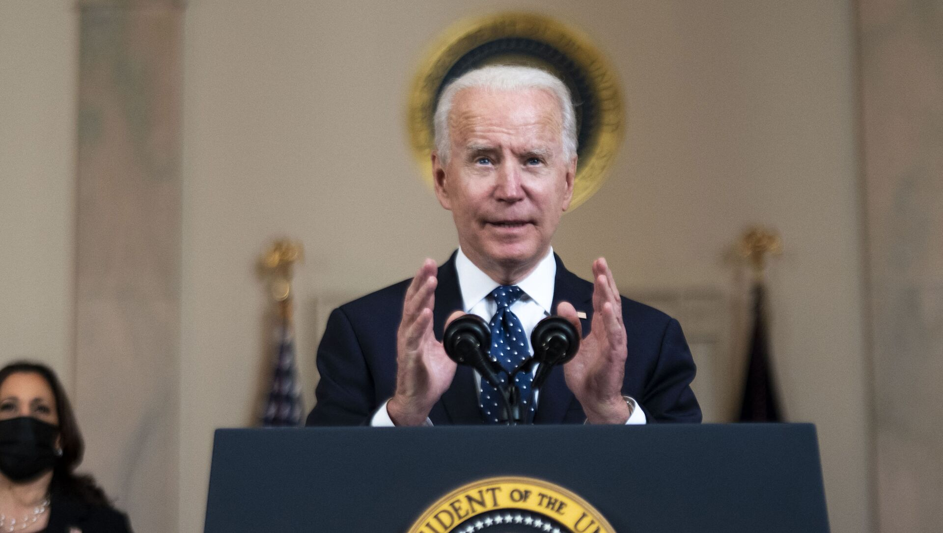 Prezydent USA Joe Biden. - Sputnik Polska, 1920, 30.04.2021